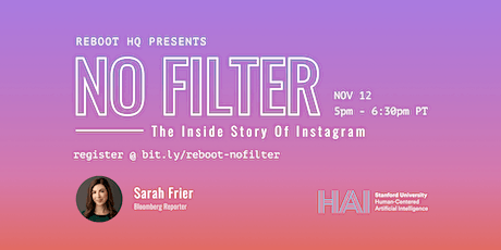 Reboot: The Inside Story of Instagram ft. Sarah Frier tickets