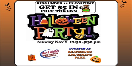 Bev and Wallys Family Entertainment Center Halloween Party 2020 tickets