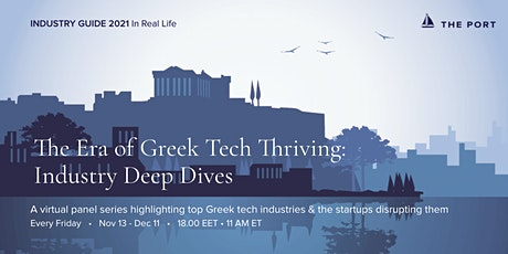 The Era of Greek Tech Thriving: Industry Deep Dives tickets
