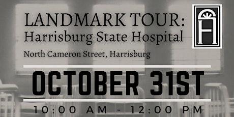 LANDMARK TOUR: Harrisburg State Hospital tickets
