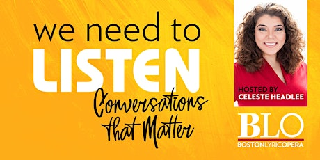 We Need to Listen: Conversations that Matter with Celeste Headlee tickets