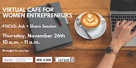 Virtual Cafe for Women Entrepreneurs tickets