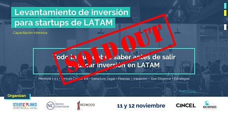 Levantamiento de inversión para startups de LATAM entradas