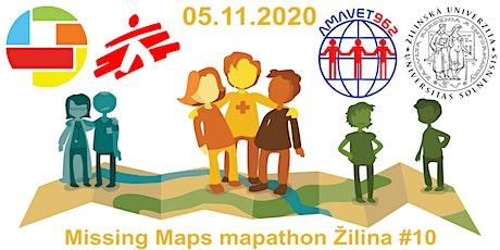 Missing Maps mapathon Žilina #10 tickets