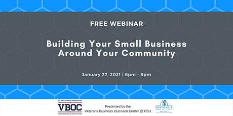 Building Your Small Business Around Your Community tickets