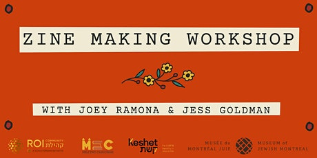 Zine-Making Workshop with Joey Ramona & Jess Goldman tickets