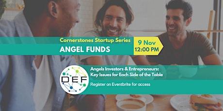 DEF Cornerstones - Workshop on Angel Funds tickets