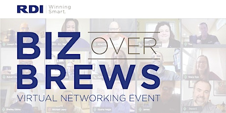 Biz Over Brews Virtual Networking Event: Winning Smart with Security tickets