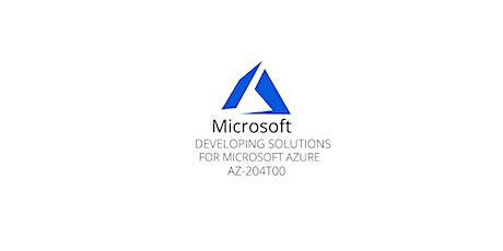 Wknds Developing Solutions for Azure Training Course Amsterdam tickets