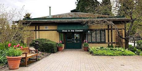 Shop in the Garden and Garden Centre - Shopping Registration tickets