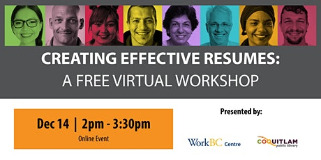 Creating Effective Resumes: A Free Career Workshop tickets