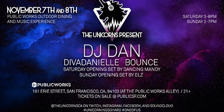 Camp Charlie Unicorns: DJ Dan & divaDanielle (SATURDAY) tickets