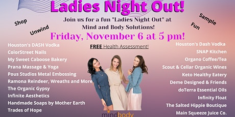It's Ladies' Night Out at Mind & Body Solutions! tickets