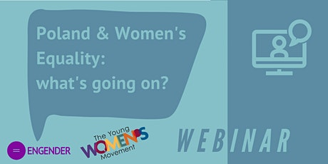 Poland and Women's Equality - what's going on? tickets