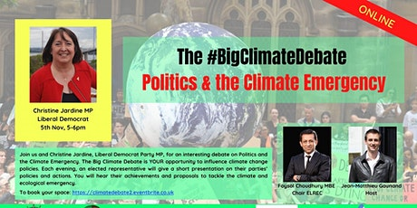 Politics &  the Climate Emergency with Christine Jardine MP tickets