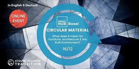 Circular materials: Furniture, architecture & the Built Environment (EN DE) tickets