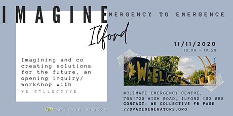 IMAGINE ILFORD: emergency to emergence tickets