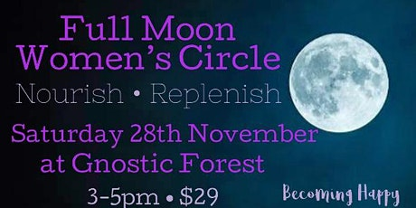 Full Moon Women's Circle - November 28th tickets