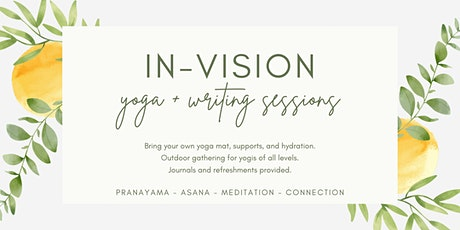 in-vision : yoga + writing sessions tickets