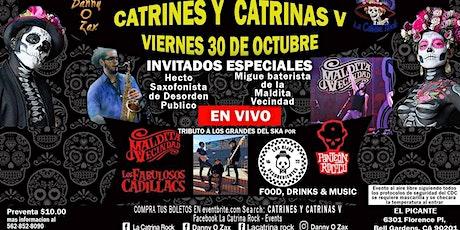 Catrinas y Catrines 5, Tributo a La Maldita Vecind tickets