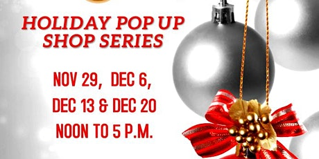 Holiday Pop Up Shop Series tickets