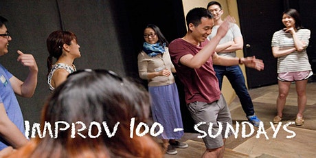 IMPROV 100 SUNDAYS-  Intro to Improv - Build Confidence Winter on Zoom tickets