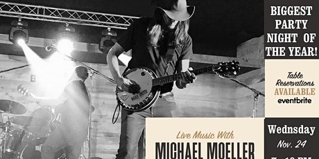 Michael Moeller Live@ Big Ash for the Biggest Party Night of the Year! tickets
