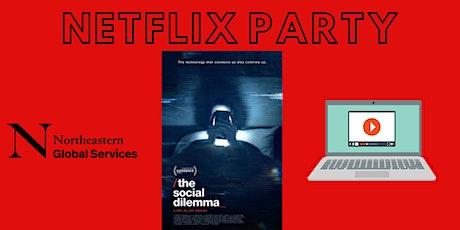 Netflix Party: The Social Dilemma tickets