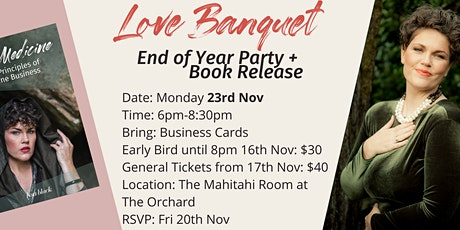End of Year Party (& Book Release) tickets