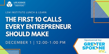 The First 10 Calls Every Entrepreneur Should Make tickets