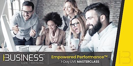 Empowered Performance. Come diventare un imprenditore di successo! biglietti