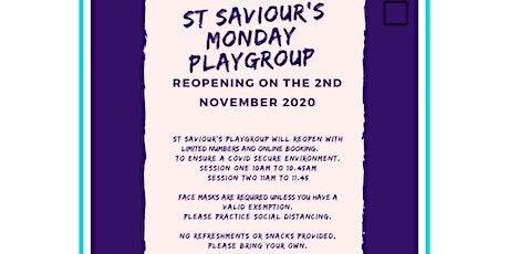 St Saviour's Monday Playgroup tickets