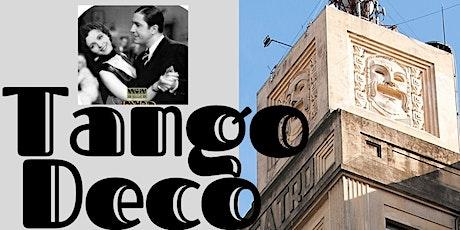TANGO Art Déco VIVO arquitectura porteña con Gardel, tour Barolo y souvenir entradas