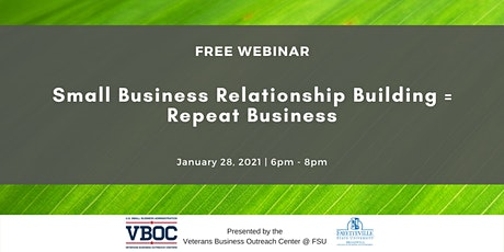 Small Business Relationship Building= Repeat Business tickets