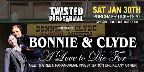 "Bonnie And Clyde.   ""A Love To Die For"" tickets"