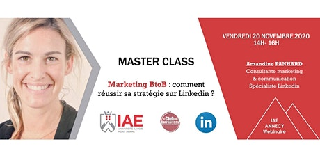 Masterclass : Comment réussir sa stratégie B2B sur LinkedIn billets
