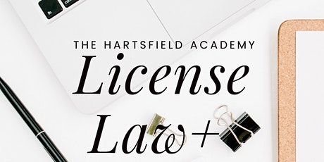 GA LICENSE LAW MasterClass: CE Plus New GAR 2021 Documents:  2:00PM-5:00PM tickets