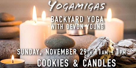 Post-Thanksgiving Yoga Session Sun.Nov 29:   Cookies & Candles tickets