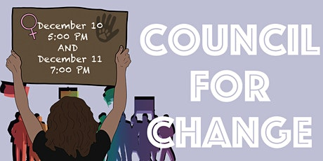 Council for Change tickets