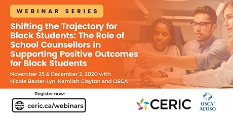 Webinar Series: The Role of School Counsellors in Supporting Black Students tickets