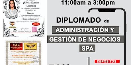 ADMINISTRACIÓN SPA boletos