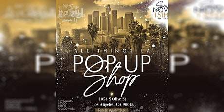 All Things LA Pop-up tickets