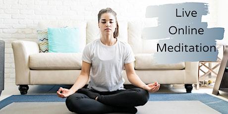 Live Online Meditation