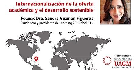 Internacionalización de la oferta académica y el desarrollo sostenible entradas