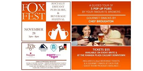 Socially Distant Pub Crawl & Beverage Festival tickets