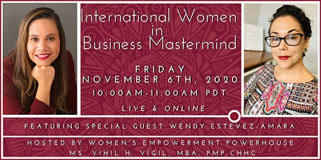 International Women in Business Mastermind - LIVE & ONLINE!!! tickets