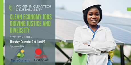 Women in Cleantech: Clean Economy Jobs Driving Justice and Diversity tickets