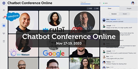 Chatbot Conference Online: Chatbots, Voice Skills &  AI Conference tickets