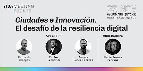 Ciudades e Innovación. boletos