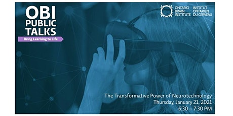 The Transformative Power of Neurotechnology tickets